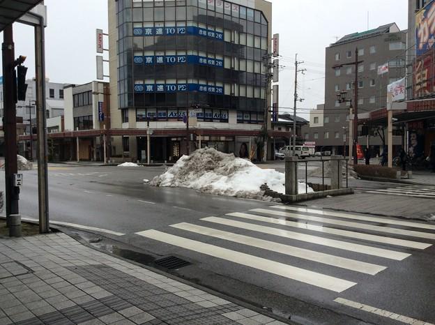 彦根の残雪8