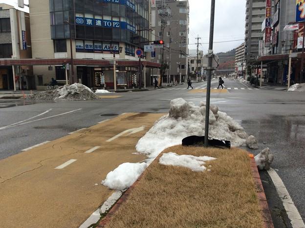 Photos: 彦根の残雪9
