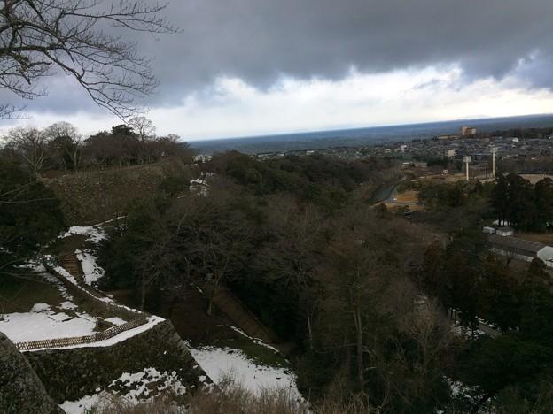 彦根城からの景観