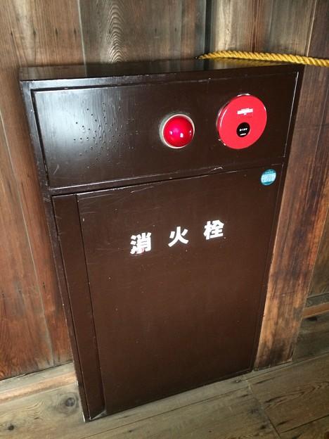 Photos: 彦根城内の消火栓