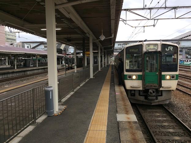 福島駅20 ~米沢行き普通電車~