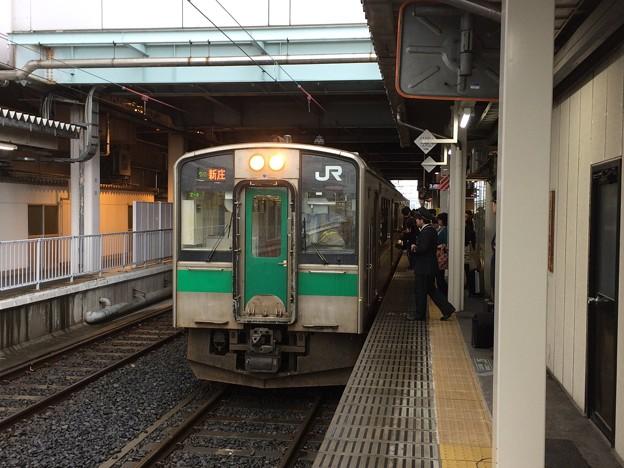 2018山形駅3 ~新庄行き普通電車~