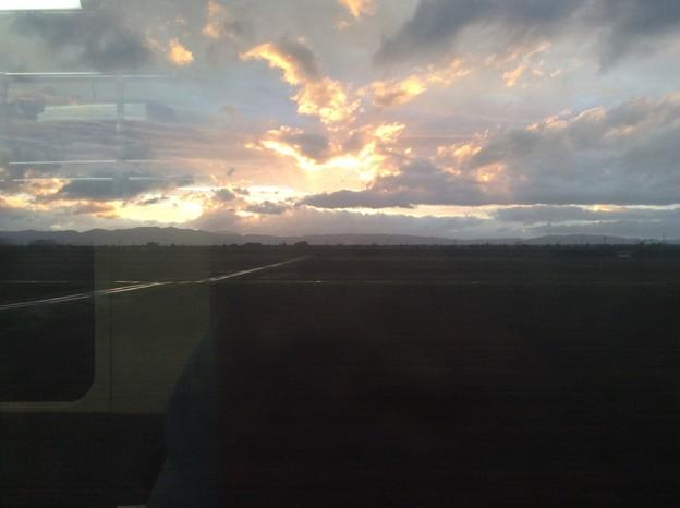 奥羽本線 車窓風景