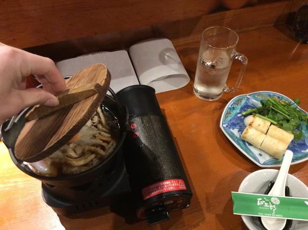 秋田名物まるごと膳1 ~きりたんぽ鍋~
