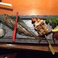 Photos: 秋田名物まるごと膳2 ~比内地鶏ネギ間串・はたはた一夜干し~
