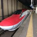 こまち、盛岡駅に到着