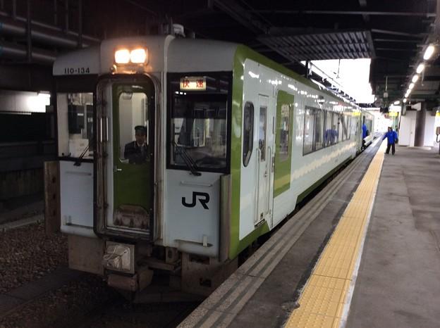 快速リアス号 盛岡駅発車前