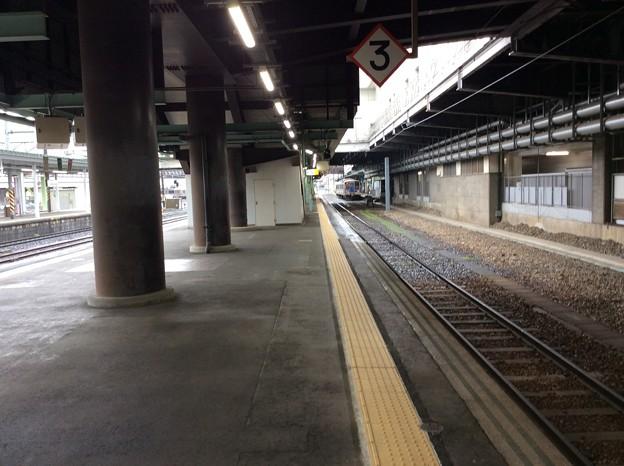 盛岡駅より宮古方面を望む