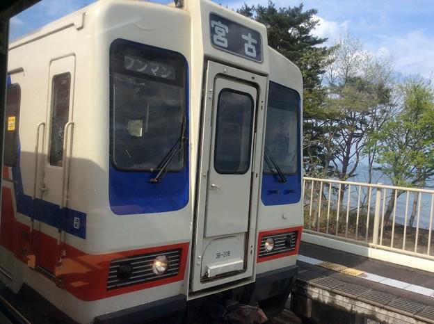 野田玉川駅2 ~列車交換~