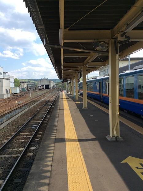 久慈駅3 ~JRホームへ移動~
