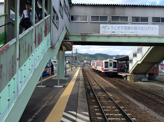 久慈駅4 ~三陸鉄道ホームを眺める~