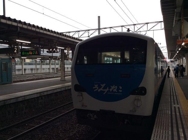 八戸駅に到着