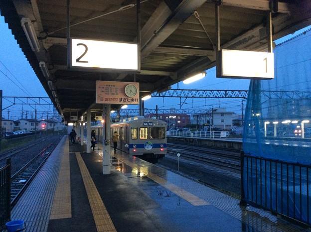 弘南鉄道弘南線弘前駅 発車前