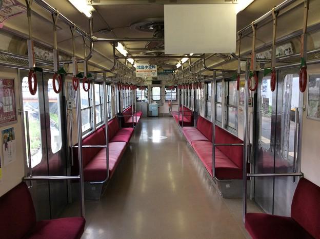弘南鉄道大鰐線 電車内1