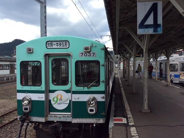 弘南鉄道大鰐駅2 ~2番ホーム~