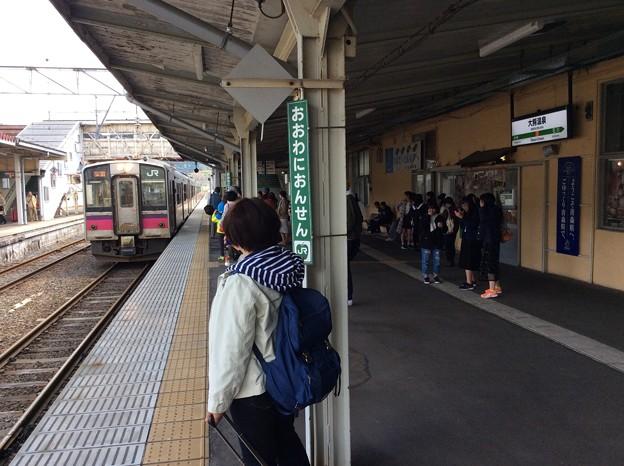 JR大鰐温泉駅5 ~電車入線~