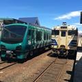 Photos: 鯵ヶ沢駅1 ~列車交換~