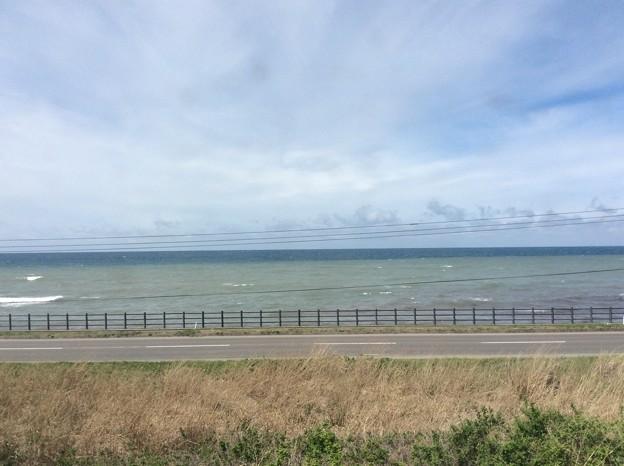 五能線から見える海1