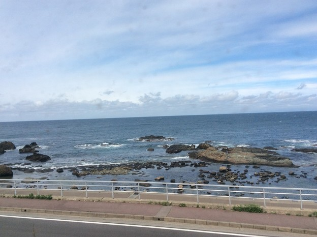 五能線から見える海3