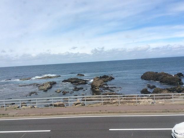 五能線から見える海4