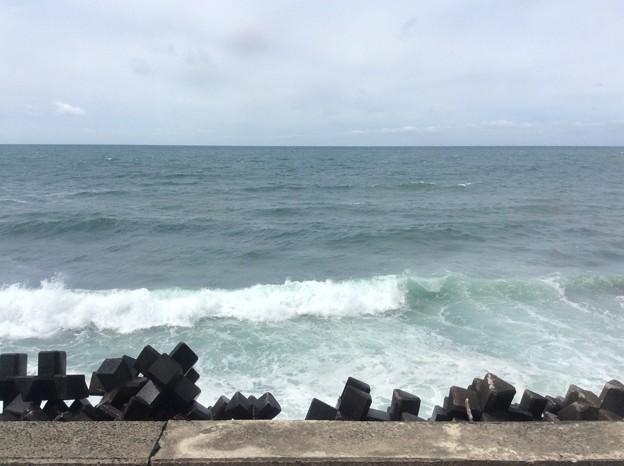 五能線から見える海6