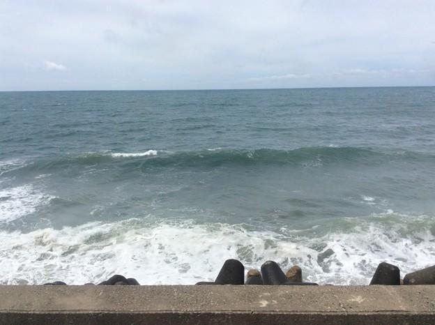 五能線から見える海7