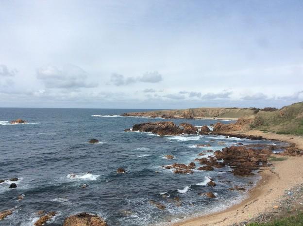 五能線から見える海9