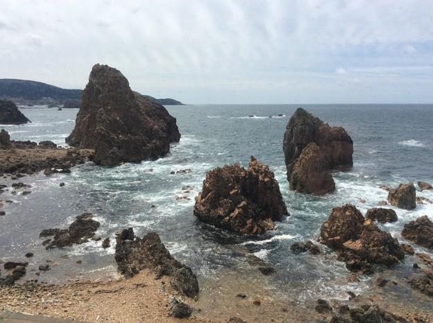 五能線から見える海11