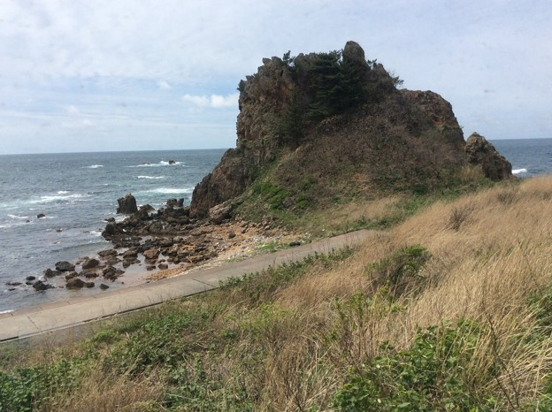 五能線から見える海12