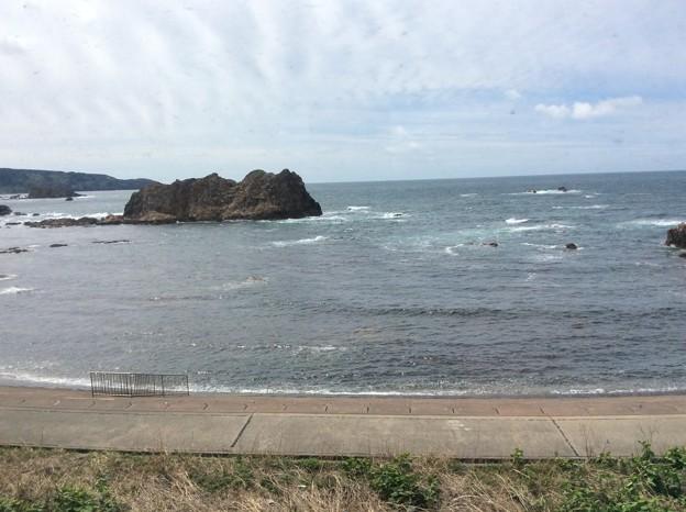五能線から見える海13