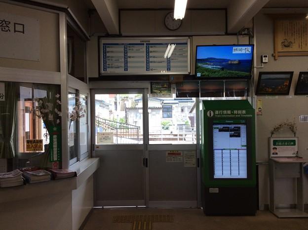 深浦駅10 ~改札~