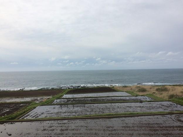 五能線から見える海16