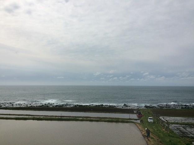 五能線から見える海17