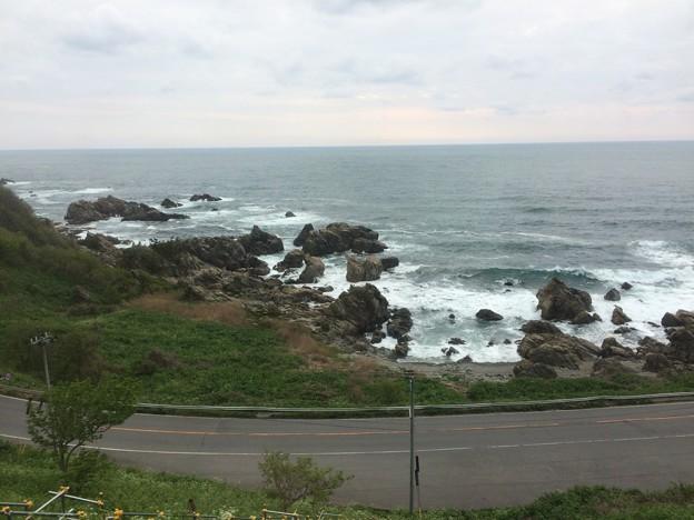 五能線から見える海21