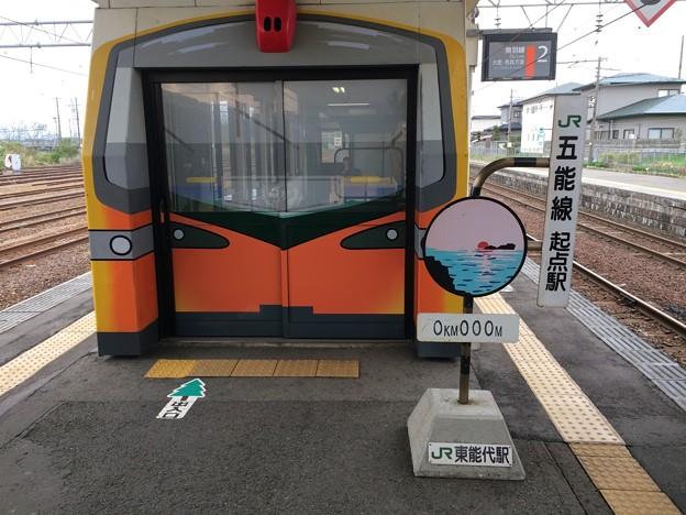 東能代駅1