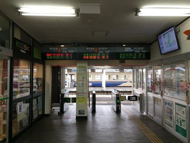 東能代駅3
