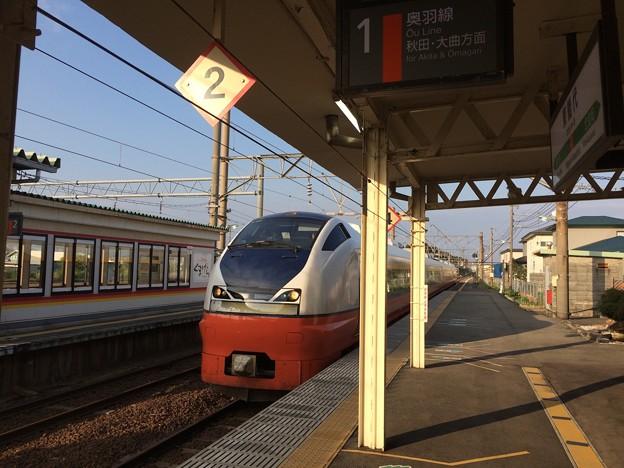 東能代駅6