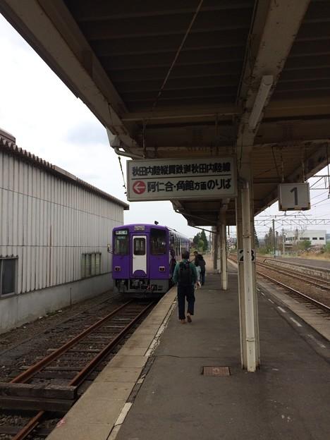 鷹ノ巣駅12 ~秋田内陸線のりば~