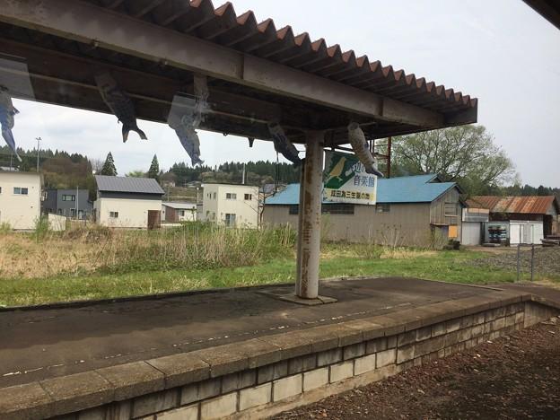 米内沢駅1