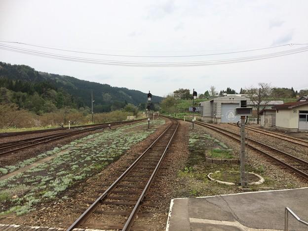 阿仁合駅1