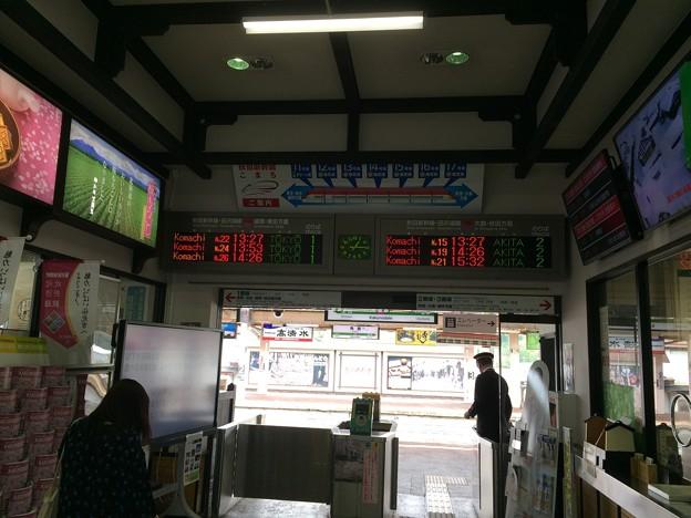角館駅9 ~改札~