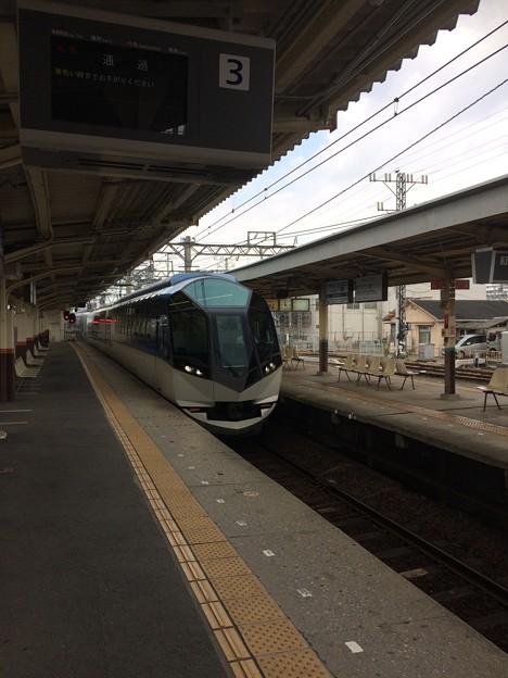 伊勢中川駅18 ~観光特急しまかぜ2~