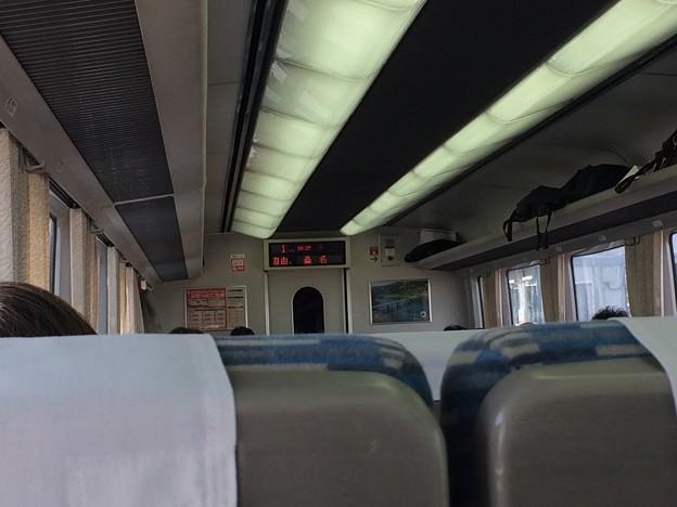 桑名駅にて