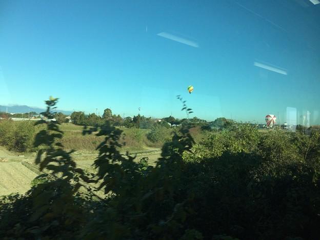 鈴鹿の気球1
