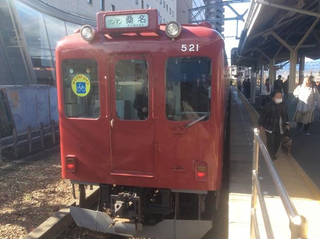養老鉄道大垣駅1