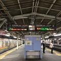 Photos: 沼津駅にて、寒さの中サンライズを待つ。