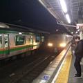 沼津駅にサンライズが到着1