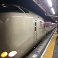 沼津駅にサンライズが到着2