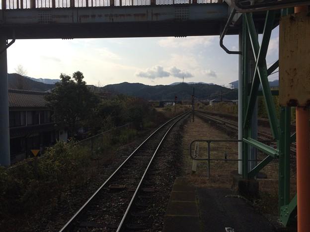 西佐川駅1
