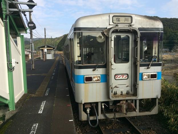 西佐川駅2